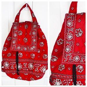 VERA BRADLEY Mini Backpack - Red